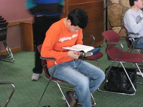 Andrew Reading Bible.JPG
