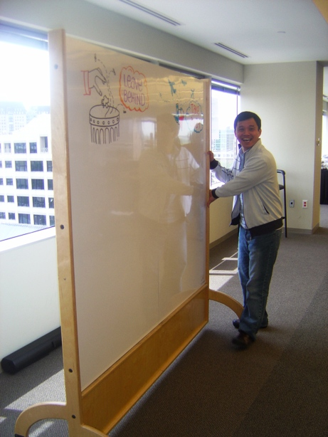 Andrew and WhiteBoard.JPG