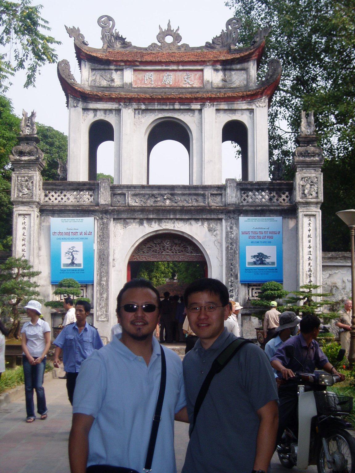 Ben and me - 1st University.JPG