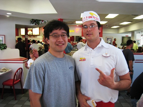 Ben at In-and-Out.JPG