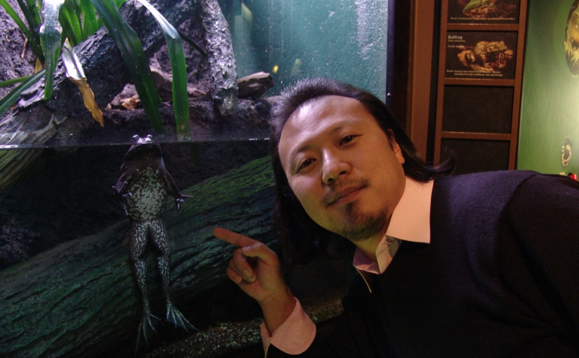 Frog and Me.JPG