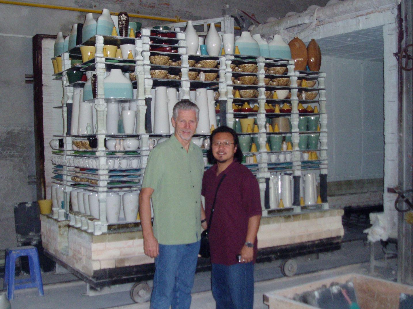 Graydon and Me - Pottery.JPG