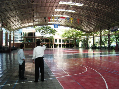 Gym of UPH.JPG