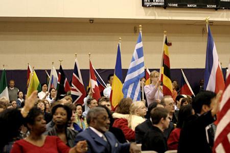 Hosanna 2006 - Flag Procession.JPG