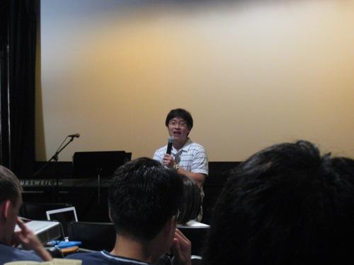 Inaugural Celeb - Ben Preaching.JPG