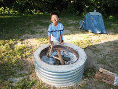 Josiah 1st Camping Trip - Fire.JPG