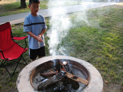 Josiah 1st Camping Trip - Fire2.JPG