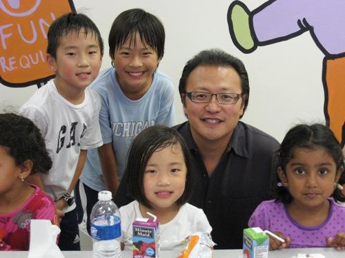 KiKi's 5th B-Day - Me and boys.JPG