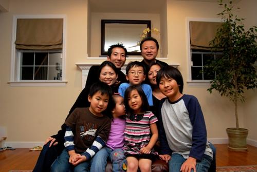 Kim and Kim Families.JPG