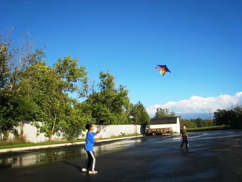 Kite Flying - Josiah .JPG