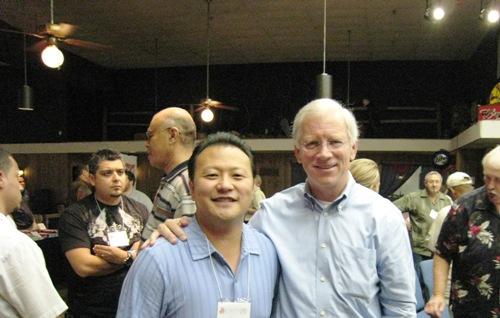 Pat Morley and Me.JPG