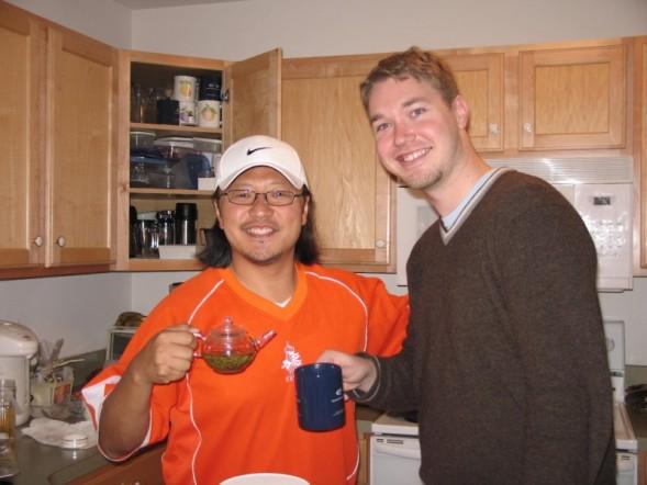 Pete and Me wtih Tea.jpg
