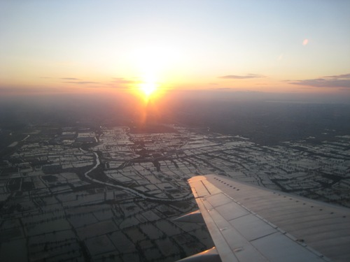 Sunset on Plane.JPG