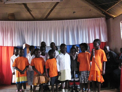 Ugandan Kids' Welcome.JPG