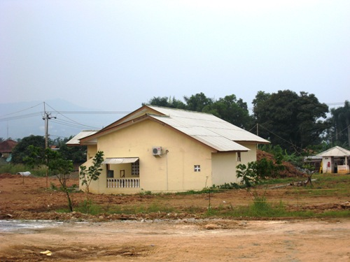 Watchtower on Building.JPG