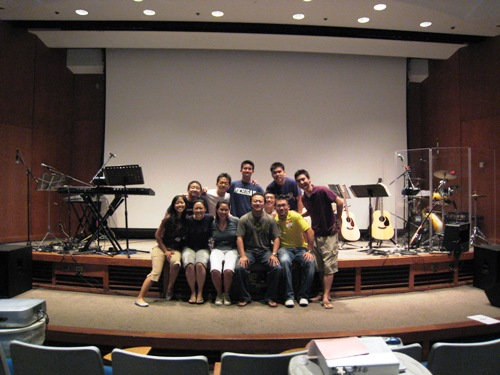 Worship Band 2008 - Last Set Up.JPG