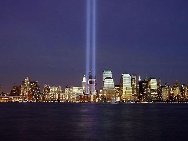 NYC Twin Tower Lights