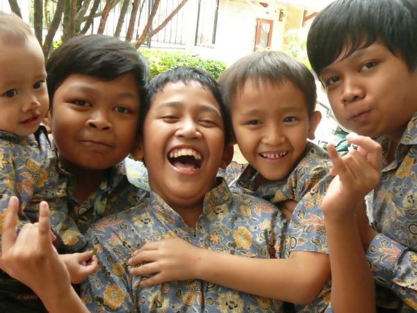 Kids in Batiks