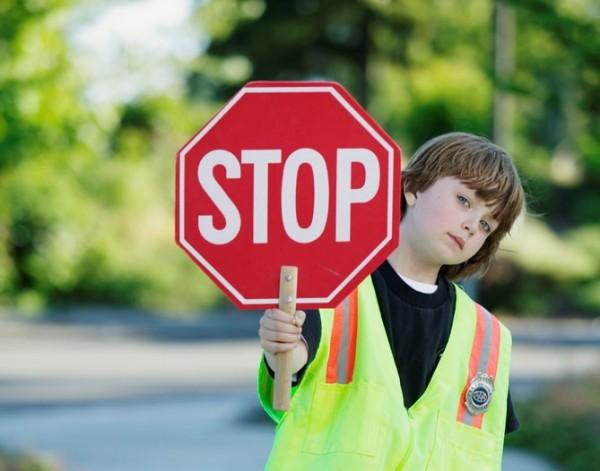 Kid Crossing Guard